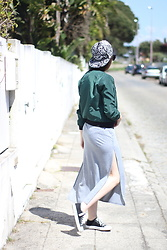 Maria Almeida - Cndirect Dress, Dresslink Jacket, Dresslink Cap - Green Jacket