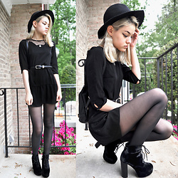 Margarita Ko - Cotton On Hat, Topshop Boots - Witch Hop