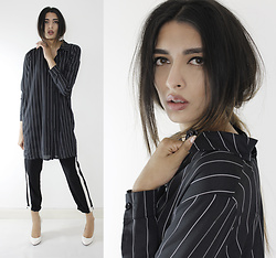 Yatri P - Boohoo Shirt, Primark Joggers, H&M Shoes - SIMPLE STRIPES