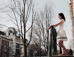 Inka P - Forever 21 Loafers, H&M Dress - Spring in Amsterdam
