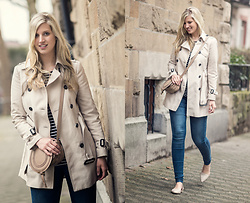 Lena B - Zara Trenchcoat, Only Jeans, Anna Field Shoes, Chloé Bag - Trench Time