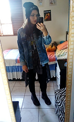 Letícia R -  - Denim Jacket <3