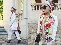 Ojie Papalli - Mango Sunglasses, Wholesale 7 Floral Coat, Ebay Necklace, Boohoo Shoe - Take a look Closer