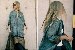 Olga Pancenko - H&M Concius Excluisve Silk Coat - LOOK N° 8