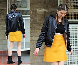 Nichola Rose - ValfrÉ Jacket, Zara Skirt, Warehouse Boots - BITCHIN'