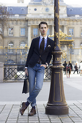 Scott Terral Downey Ѧ - Oppermann London Briefcase - Saint-Louis
