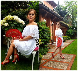 Klaudyna - Mosquito.Pl Dress, Humanic Heels - Spanish Vibes