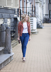 Lian G. - Mbym Jacket, Four By Top, Levi's® Jeans, Aldo Shoes - Follow your dreams