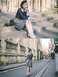 Kennie Cheng - H&M One Piece, Zara Sandal - YORK MINSTER