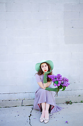 Paulie Antiques - American Apparel Hat - Lady Lilac