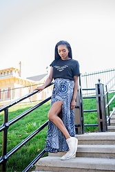 Monet Rhoden - Forever 21 Shirt, Converse Shoes - Sticks and Stones www.shebebutfierce.com