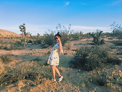 Pauline Aira Mariz Umali - Forever 21 Flower Dress - Joshua Tree