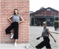 Christy Jaldori - H&M Top, Zara Culottes, Nike Shoes, L.G.R Eyewear - No rest for the wicked