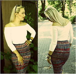 Make Your Style -  - Aztec Skirt