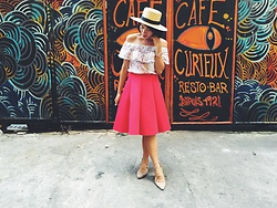 Cassey Cakes - H&M Straw Hat - Curieux