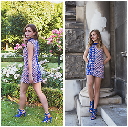 Klaudyna - H&M Dress, Humanic Heels - The blouse turned into a dress