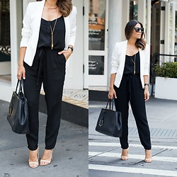 Olivia J -  - How to Style a Jumpsuit for Work