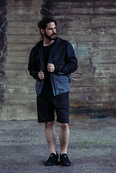 Maik - Puma Windbreaker, Puma Shirt, Puma Shorts, Puma Sneaker - Sport-dress