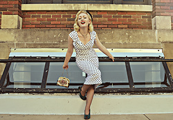 Erin Smith - Stop Staring Polka Dot Dress - Stop Staring!