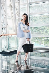 Pamela Wirjadinata - Celine Bag, Label8 Top, Label8 Jumpsuit, Zalora Heels - Meeting Attire