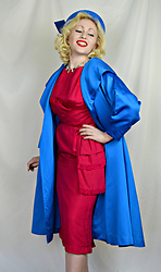 Erin Smith - Gwendolyn's Golden Eras 1950's Swing Coat - Swing Queen