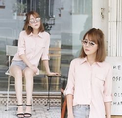 Agnes Low - Fayth Label Shirt - Pink for Summer☀️