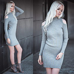 Oksana Orehhova - Naanaa Dress - SWEET GREY