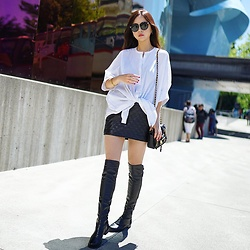 Shelly LIU - Stuart Weitzman Boots - THIGH HIGH BOOTS