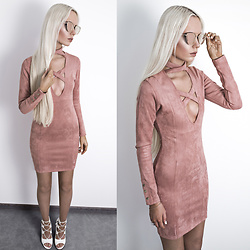 Oksana Orehhova - Oh Polly Dress - VINTAGE BLUSH