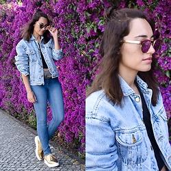 Liliana Garcia - Sheinside Shirt, Zara Blazer, Zara Jeans