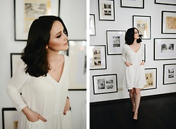 Karolina Cajmel Ościk -  - White dress