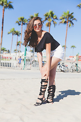 Larissa (Larz) May - Free People Sandals - GLADIATOR SANDALS