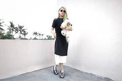 Cindy Karmoko - Marni Shoes, Shopatvelvet 2in1 Dress - Minimal monday