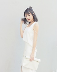 Agnes Low - Tact Singapore Tank Top - White and everything nice