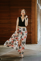 Susana Ares - Abercrombie & Fitch Maxi Skirt - NEW POST: how to look spectacular this summer