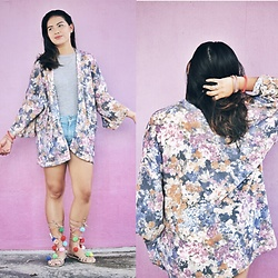 Ann Actub - Dbselected Cardigan - Pink wall