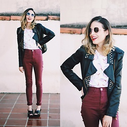 Glena Martins - Zerouv Sunnies, Youcom Pants, Melissa Cosmopolitan - POPSICLE