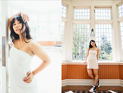 Marissa Hooi - Urban Outfitters Dress, Converse Sneakers - Sweet Disposition
