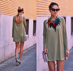 Ruxandra Ioana - Zaful Dress, Choies Necklace - Can I ?