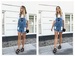 Kaja . - Asos Overalls, Birkenstock Shoes - GOOD OLD OVERALLS