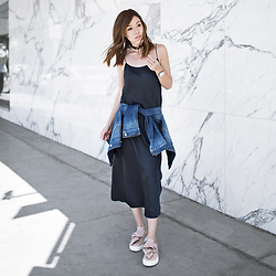 Jenny Tsang - Slip Dress - Silk Slip Dress