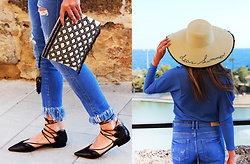 Ola - Zara Bag, Zara Shoes, Zara Jeans, Mango Hat - Palma de Mallorca - Dear summer