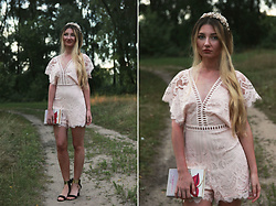 ♡Anita Kurkach♡ - Sheinside Playsuit, New Chic Crown - PRINCESS
