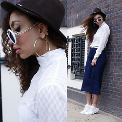 Larissa B. -  - THE DENIM CULOTTES