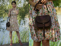 Yulia Proskurina - Sheinside Bag, Artka Dress - Boho