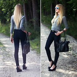 Diane Fashion - Mohito Sweater, Lee Jeans, Wittchen Bag - Basic outfit