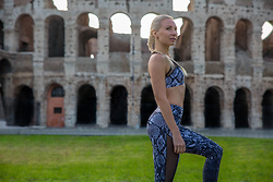 Anastasiya Craze - Michi Antigravity Bra, Michi Stardust Legging - What to Wear for a Workout in Rome, Italy