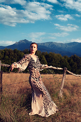 Zvezdelina Tsolova - H&M Dress - The golden hour with #HMStudioAW16…