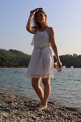 Barbey Marie -  - White lace dress