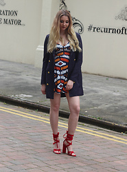 Laura Rogan - Missguided Jacket, Missguided Dress, Public Desire Shoes - Doing It For Yourself